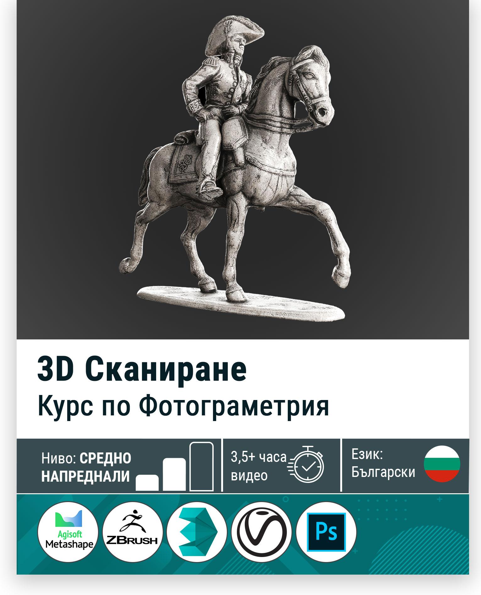 3D Сканиране (Фотограметрия)